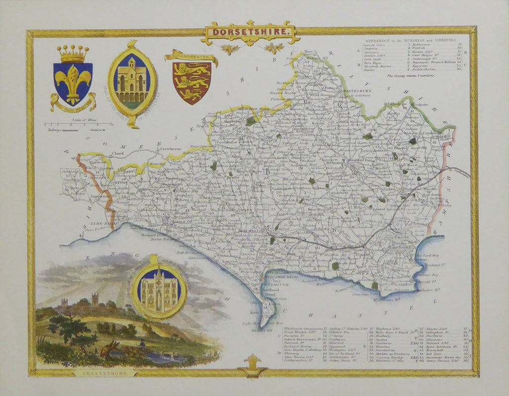 Dorsetshire map