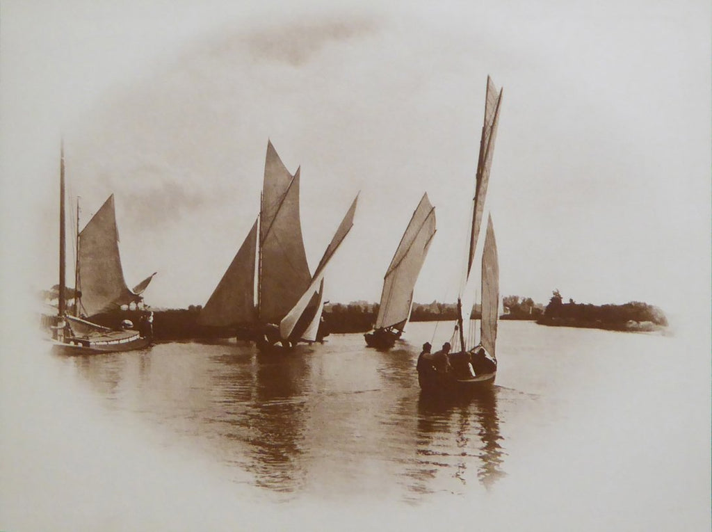 A Sailing Match at Horning Peter Henry Emerson (Camden Graphics)