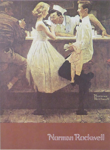 After the Prom (2)  Norman Rockwell
