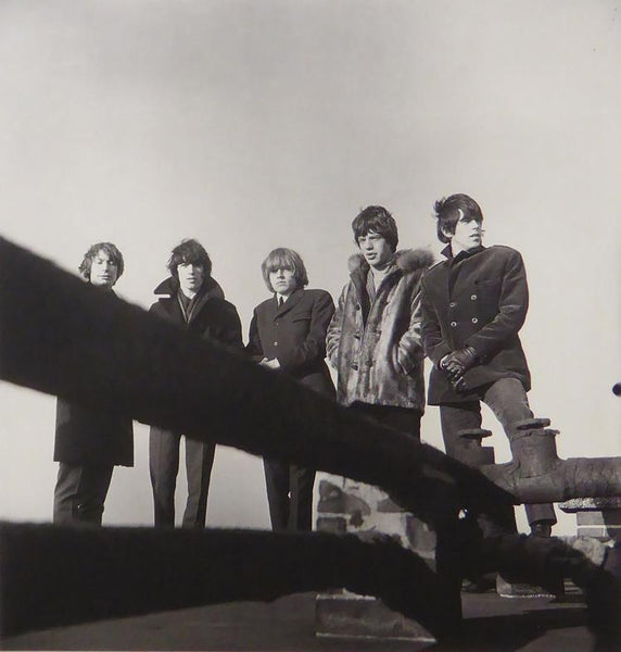 The Rolling Stones on the roof of the Decca building