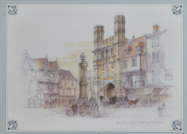 Christchurch Gate, Canterbury Cathedral