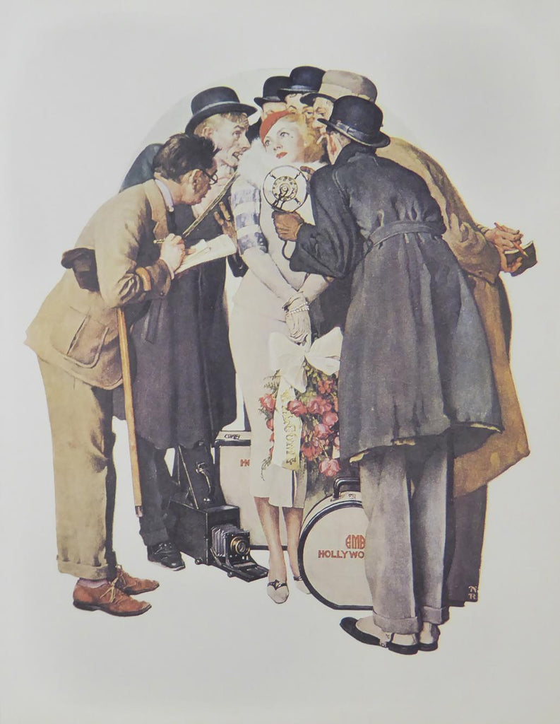 "Norman Rockwell ""The Interview"""