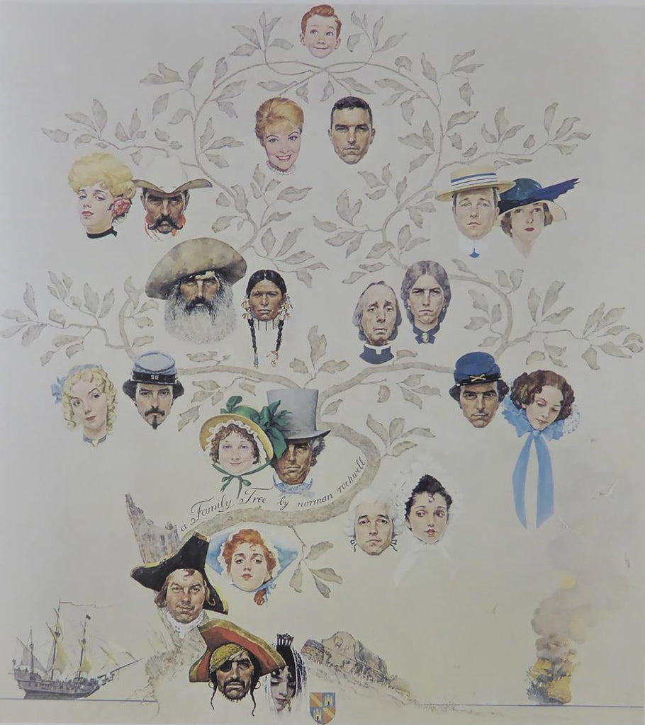 "Norman Rockwell ""A Family Tree"""