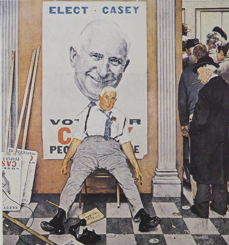 "Norman Rockwell ""Before and After"""