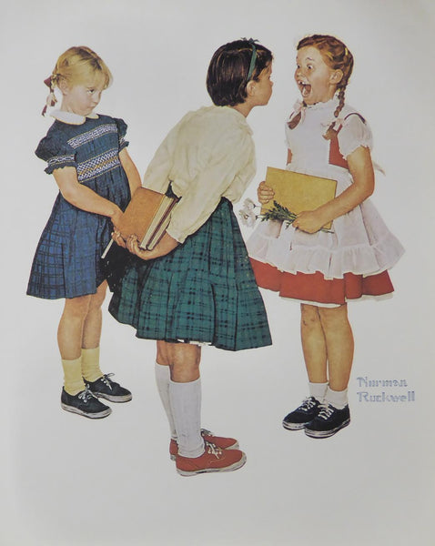"Norman Rockwell ""Check Up"""