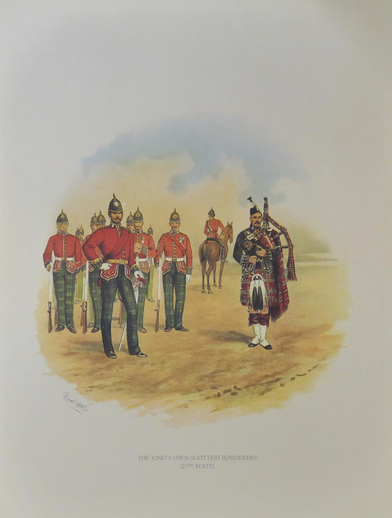 The Kings Own Scottish Borderers (25th foot)