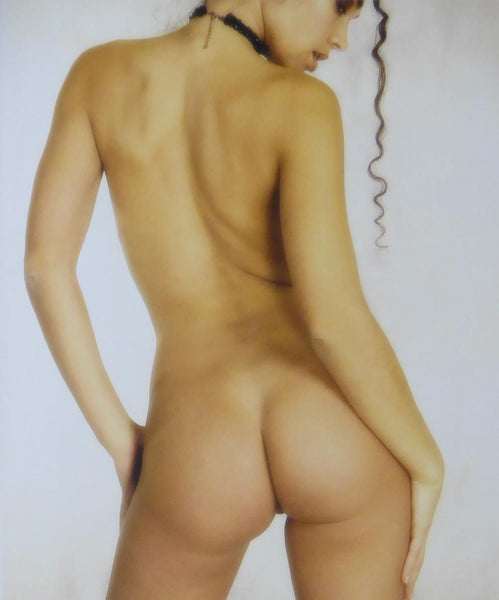 Back view of unknown model (Glamour Shot)
