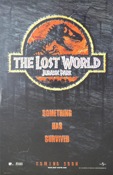 The Lost World Jurassic Park something has survived