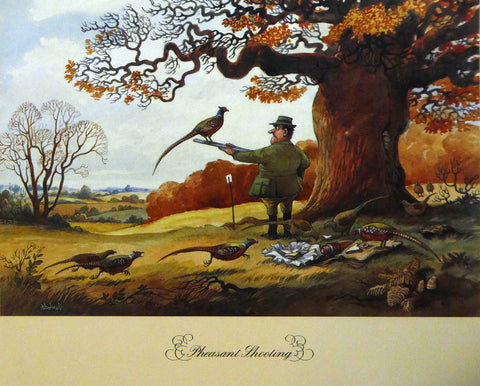Pheasant Shooting Norman Thelwell