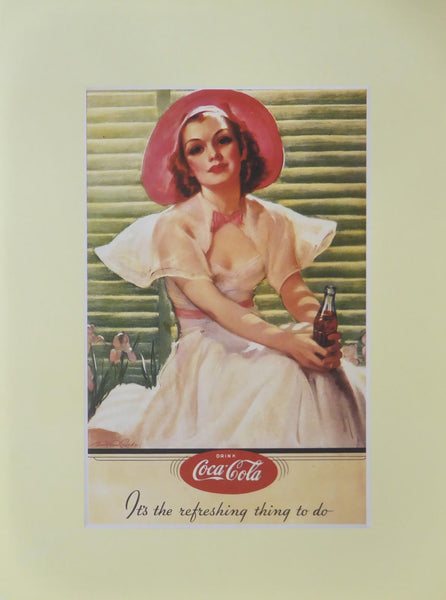 Drink Coca Cola its the refreshing thing to do (Advert)