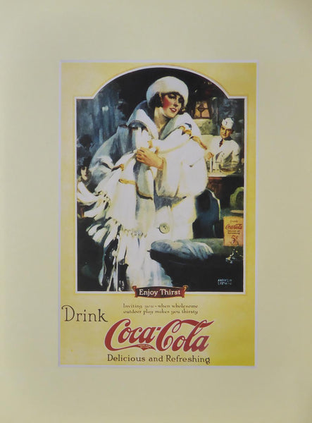 Drink Coca Cola delicious & refreshing (Advert)