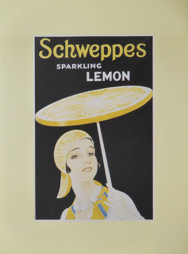 Schweppes Sparkling lemon (Advert)
