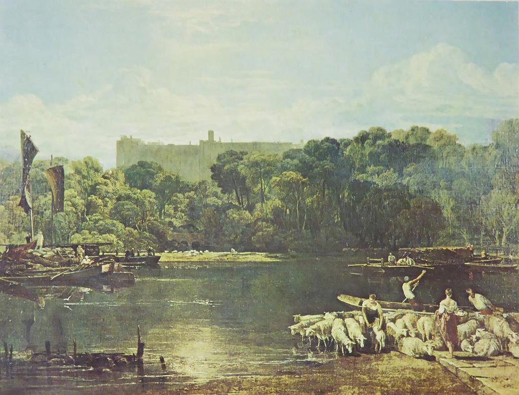 Windsor Castle from the Thames   Joseph Turner