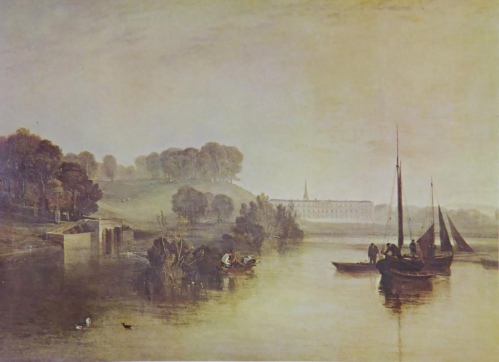 Petworth Sussex, The Seat of the Earlof Egremont ,dewy morning   Joseph Turner