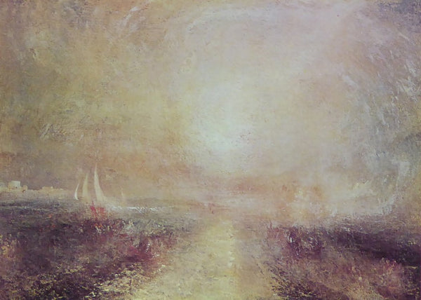 Yachts approaching the Coast   Joseph Turner