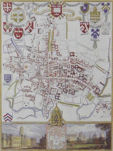City & University of Oxford (Map)