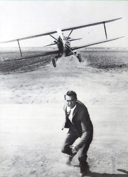 North by Northwest (Plane Scene) Cary Grant