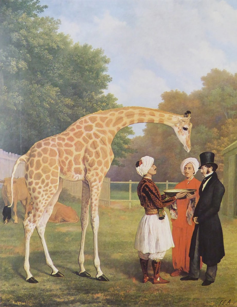 The Nubian Giraffe Jacques Laurent Agasse