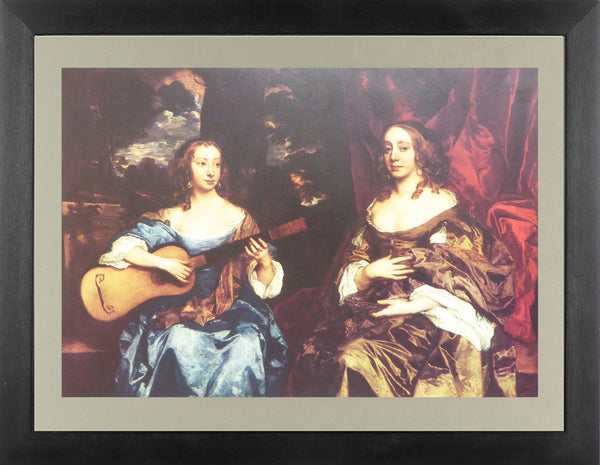 Two ladies of the Lake Family Sir Peter Lely