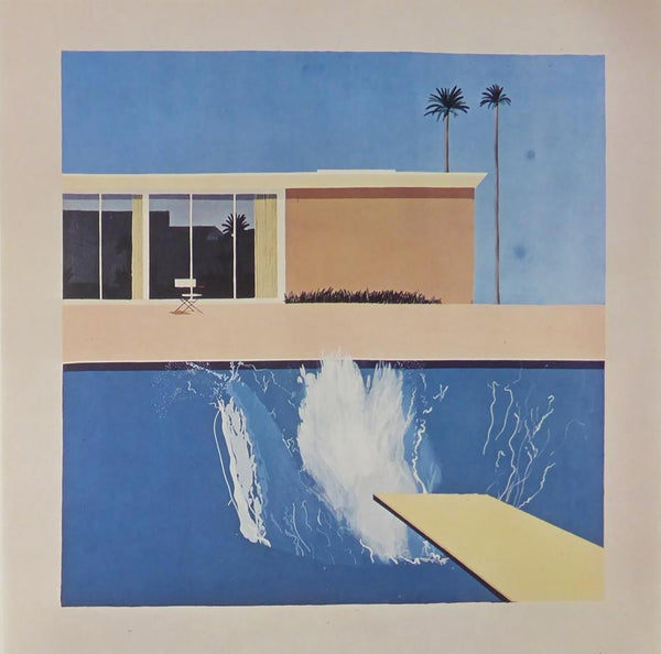 A bigger splash David Hockney