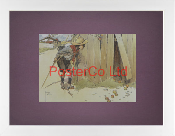 "Signs of Enemy - Lawson Wood - Felix Rose 1984 - Framed Print - 12""H x 16""W"