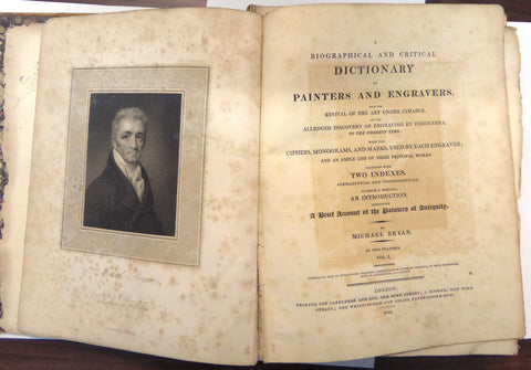A Biographical and Critical Dictionary of Painters and Engravers - Bryan - 1816