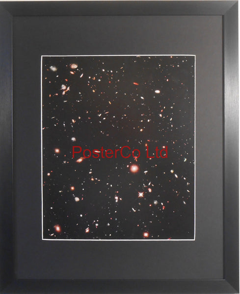 "Fornax Constellation- Hubble Telescope shot - Framed Picture - 20""H x 16""W"
