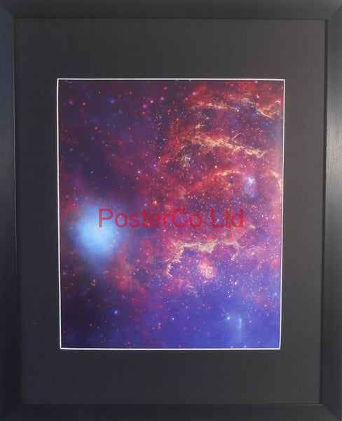 "Centre of the Milky Way - Hubble Telescope shot - Framed Picture - 20""H x 16""W"