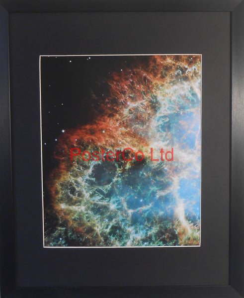 "Crab Nebula - Hubble Telescope shot - Framed Picture - 20""H x 16""W"