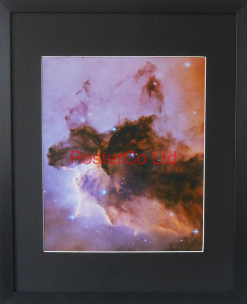 "Eagle Nebula - Hubble Telescope shot - Framed Picture - 20""H x 16""W"
