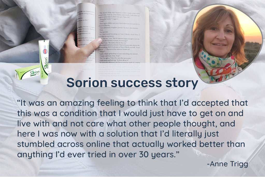 Anne had to change career because of her psoriasis