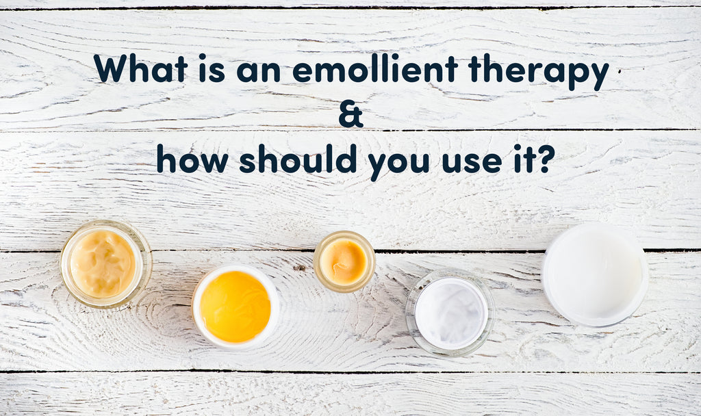 What is an emollient therapy and how should you use it?