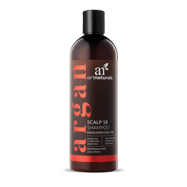 Art Naturals Scalp 18 Coal Tar Shampoo 473ml | HelloSkin