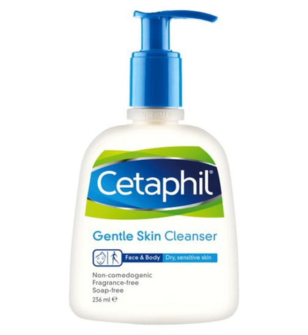 Cetaphil Gentle Skin Cleanser for Acne-Prone Skin - 473ml, 236ml