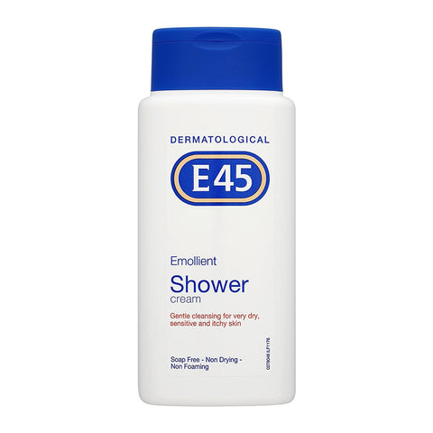 E45 Emollient Shower Cream for very dry, sensitive and itchy skin - 200ml