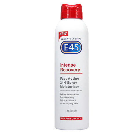 E45 Intense Recovery 24H Spray Moisturiser for eczema and dry skin - 200ml