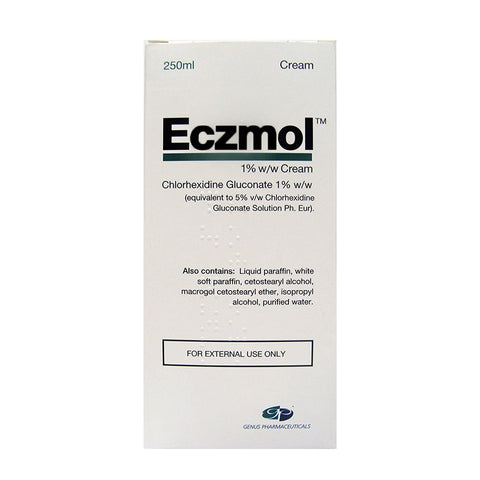 Eczmol Cream for eczema and dermatitis - 250ml