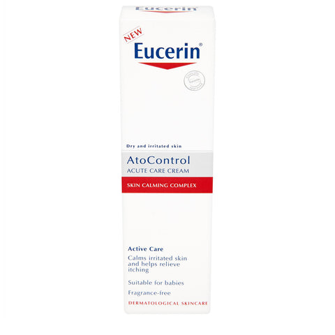 Eucerin AtoControl Acute Care Cream, calms irritated skin and helps relieve itching - 40ml