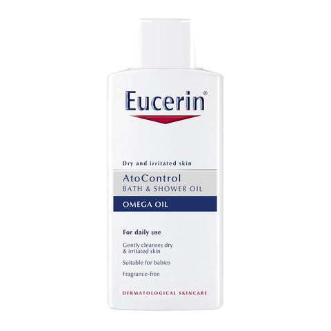 Eucerin AtoControl Bath & Shower Oil for atopic dermatitis and irritated skin - 400ml