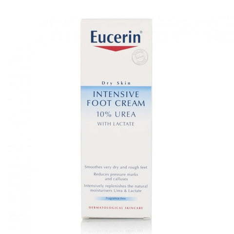 Eucerin Intensive Foot Cream 10% Urea  for dry and rough feet - 100ml