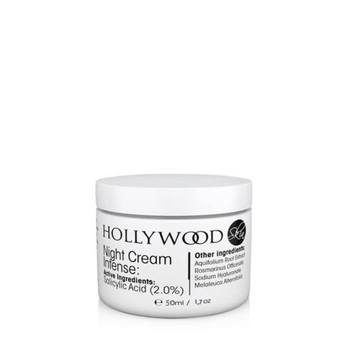 Hollywood Night Cream Intense for acne-prone skin - 50ml