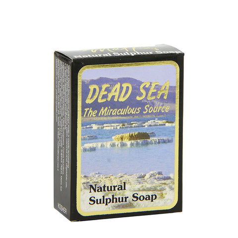 Malki Dead Sea Natural Sulphur Soap - 90g