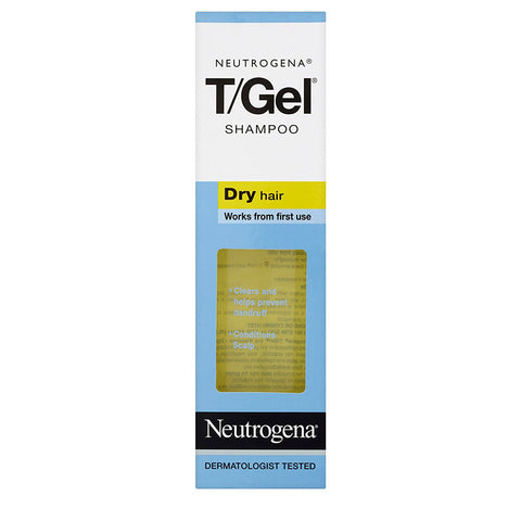 Neutrogena T/Gel Shampoo Dry Hair - 250ml, 125ml