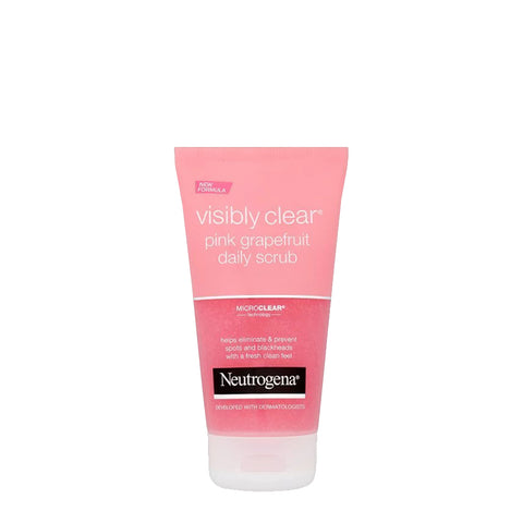 Neutrogena Visibly Clear Pink Grapefruit Daily Scrub for Acne - 150ml
