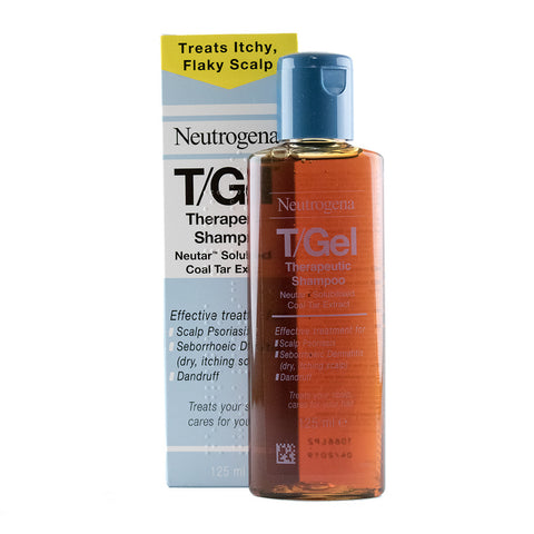 Neutrogena T/Gel Therapeutic Coal Tar Shampoo for scalp psoriasis - 125ml, 250ml