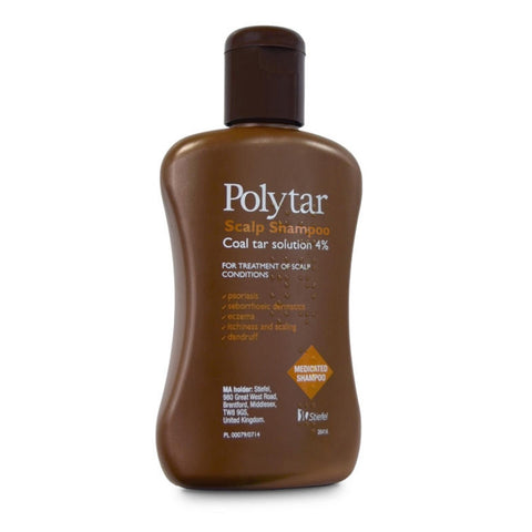 Polytar Scalp Shampoo to Reduce Itchiness & Inflammation - 150ml