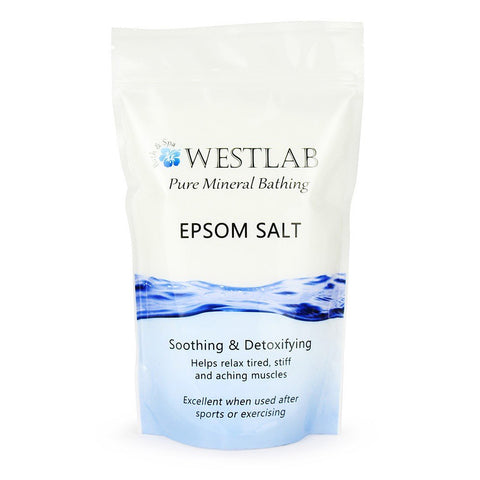 Westlab Epsom Salt for Psoriasis - 2kg, 1kg
