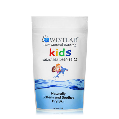 Westlab Kids Dead Sea Bath Salts for Dry and Itchy Skin - 500g