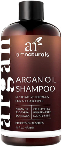 ArtNaturals Argan Oil Shampoo for Psoriasis & Dry Skin - 473ml