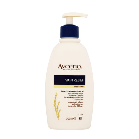 Aveeno Skin Relief Moisturising Lotion with Shea Butter - 300ml, 200ml